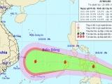Áp thấp nhiệt đới gần Biển Đông sẽ mạnh lên thành bão