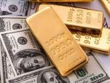 Đồng USD giảm, giá vàng thế giới đi lên