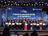 Hòa Bình nhận giải thưởng Doanh nghiệp bền vững 2018