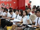 Tưng bừng ngày hội tuyển dụng tiếp viên Vietjet trong tháng 11