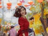 Ca sĩ Nguyễn hồng nhung hoá quý cô cổ điển trong bộ sưu tập Đông Domino 68