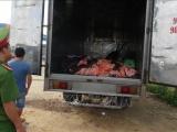 Bình Phước: Bắt giữ 1,4 tấn da và mỡ động vật hôi thối trên đường vào TP.HCM tiêu thụ
