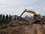 Cần Thơ: Vụ nổ bất ngờ tại công trình dự án bờ kè hồ Bún Xáng