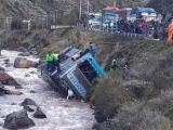 Peru: Xe buýt rơi xuống sông, 40 người thương vong