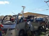 Xe tải tông xe buýt tại Brazil, hàng chục người thiệt mạng và bị thương