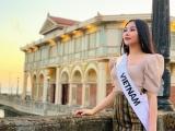 Ngân Anh được các thí sinh  Miss Intercontinental tổ chức sinh nhật