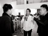 Tùng Dương, Tấn Minh, Trọng Tấn miệt mài tập luyện show Mùa xuân nho nhỏ