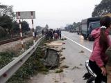 Hải Dương: Người phụ nữ bị xe đâm khi đi bán mạ