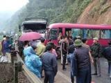 Tuyên Quang: Xe khách đấu đầu xe tải, 6 người bị thương nặng