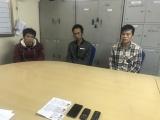 Quảng Ninh: Bắt giữ 3 đối tượng người Trung Quốc bị truy nã
