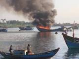 Kiên Giang: Nổ bình gas trên tàu cá, 2 người chết, 3 người bị thương