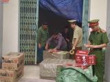 Thanh Hóa: Bắt xe tải vận chuyển 2.000 thùng bánh kẹo và đồ chơi không rõ nguồn gốc