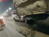 Va chạm liên hoàn trong hầm Hải Vân, 3 người bị thương