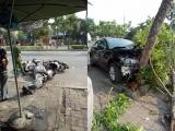 Thừa Thiên - Huế: Xế hộp tông loạn xạ xe máy, tài xế và 3 người bị thương