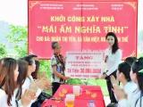 """HH Nữ Doanh nhân doanh nghiệp nhỏ và vừa Việt Nam mang """"Mái ấm nghĩa tình"""" đến với Bắc Giang"""