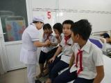 30 học sinh tiểu học nhập viện, nghi bị ngộ độc sữa