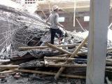 Hải Dương: Sập giàn giáo nhà đang xây, 4 người thương vong