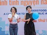 Thái Thùy Linh, Nguyễn Hồng Nhung đến với trẻ tự kỷ ở Hải Phòng