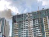 TP.HCM: Cháy căn hộ cao cấp khiến hàng trăm cư dân hoản loạn tháo chạy