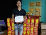Lạng Sơn: Bắt giữ xe chở 156 kg pháo nổ nhập lậu
