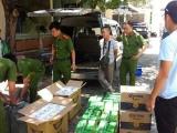 Đà Nẵng: Bắt quả tang 2 đối tượng vận chuyển hàng nghìn bao thuốc lá lậu
