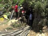 Lào Cai: Nỗ lực cứu nạn nhân mắc kẹt dưới hang đá với hi vọng sống mong manh