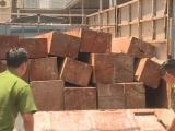 Đắk Lắk: Tài xế chở gỗ lậu tông ô tô vào xe công an