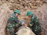 Thanh Hóa: Huỷ nổ thành công quả bom nặng 900 kg