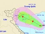 Áp thấp có thể mạnh thành bão, hướng từ Quảng Ninh đến Nam Định