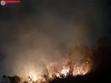 Khánh Hòa: Cháy lớn tại núi cô Tiên