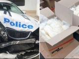 Australia phát hiện 270kg ma túy đá trong một vụ va chạm giao thông