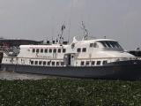 Tàu cao tốc Superdong III bốc cháy dữ dội tại cảng Rạch Giá