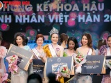 Đóa mẫu đơn đã tỏa sáng trong đêm chung kết Hoa hậu doanh nhân Việt Hàn 2019