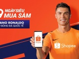 Siêu sao bóng đá thế giới Cristiano Ronaldo trở thành đại sứ thương hiệu của Shopee