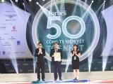 """Tập đoàn Hòa Bình 4 lần liên tiếp đạt """"Top 50 Công ty niêm yết tốt nhất Việt Nam"""""""