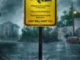 Những con số 'kinh hoàng' về cơn bão 'siêu to khổng lồ' tràn vào 'Địa đạo cá sấu tử thần'