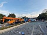 Khánh Hòa: Hai xe khách tông nhau làm 1 người chết, 40 người nhập viện