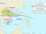 Bão số 4 dự báo đổ bộ vào Thanh Hóa - Quảng Bình, gây mưa rất lớn