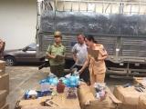 Thanh Hóa: Bắt xe tải chở mỹ phẩm, đồ chơi không rõ nguồn gốc xuất xứ