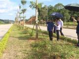 Bí thư Tỉnh ủy Lại Xuân Môn: Cần đẩy nhanh tiến độ thi công đường phía Nam khu đô thị mới Thành phố