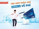 Chủ thẻ tín dụng Sacombank visa được hoàn phí khi mua hàng trả góp lãi suất 0%