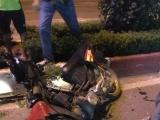 Quảng Ninh: Xe máy chở 3 đi ngược chiều, 3 người thương vong