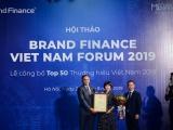 Công bố Top 50 Thương hiệu giá trị nhất Việt Nam 2019