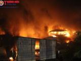 Vụ cháy Công ty Rạng Đông: Phun 15.000 lít hóa chất tẩy độc