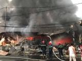 Thanh Hóa: Chợ Còng tạm bị bà hỏa thiêu rụi trong đêm