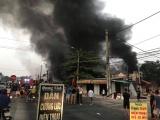 Thanh Hóa: Công ty Đông Bắc có đơn tố giác tội phạm vụ cháy chợ Còng tạm
