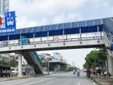 Hà Nội lắp ghép thêm 4 cầu vượt cho người đi bộ