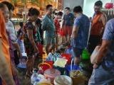 Công ty nước Sông Đà đã khắc phục sự cố và cấp nước trở lại