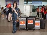 """Dương Yến Nhung mang 8 valy hành lý sang """"chinh chiến"""" ở Philippines"""
