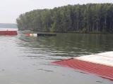 TPHCM: Tàu hàng chở gần 300 container chìm trên sông Lòng Tàu